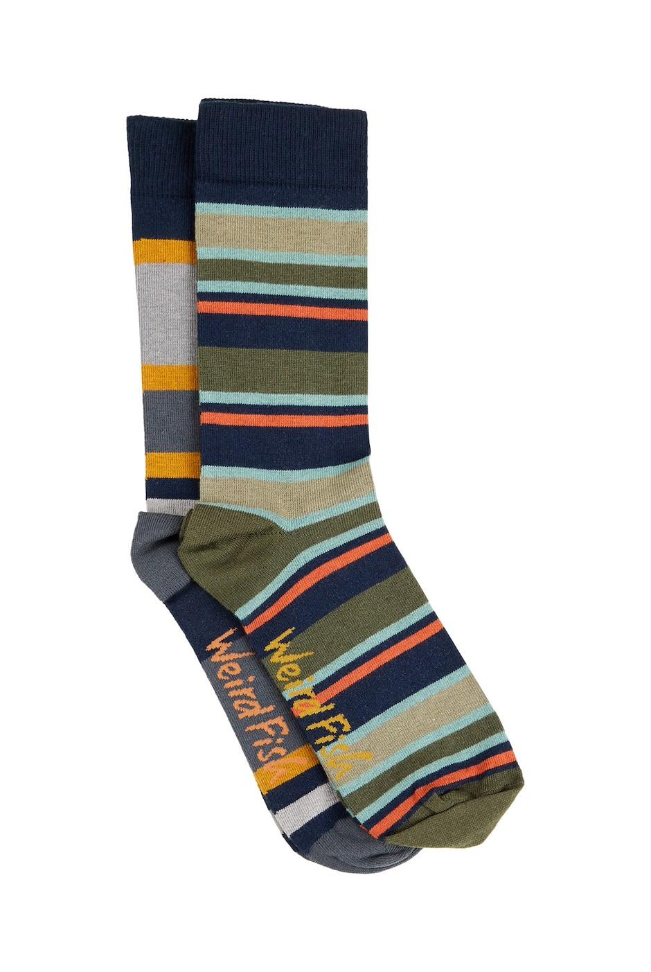 Doolin Sock Set 2 Pair Pack Navy