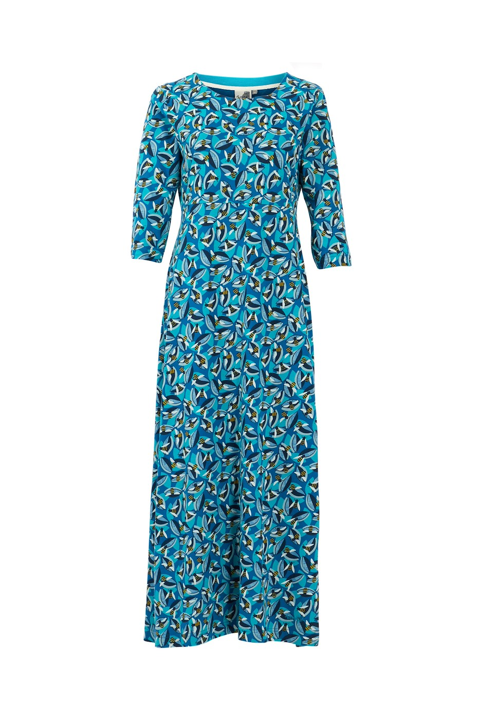 Ramona Jersey Maxi Dress Storm Blue