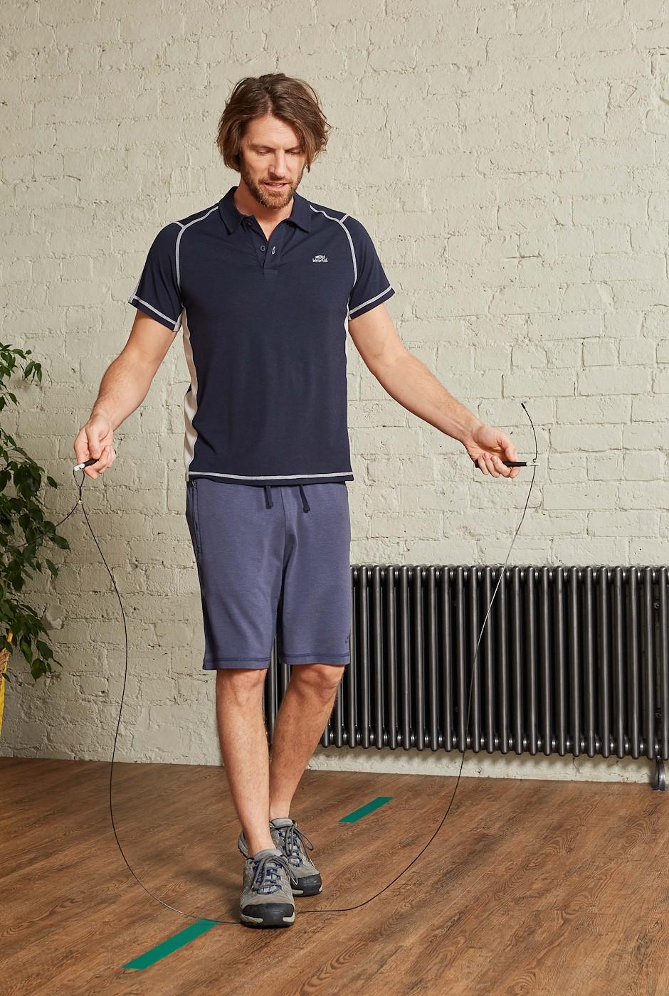 Hypnos Bamboo Shorts Navy Marl