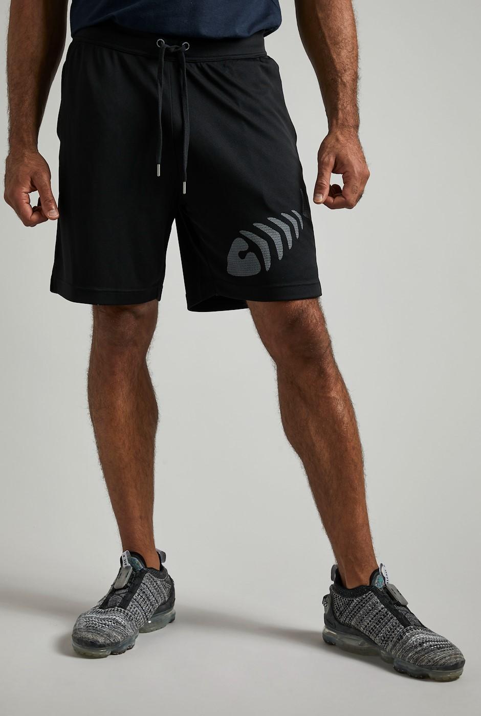 Arne Gym Shorts Black