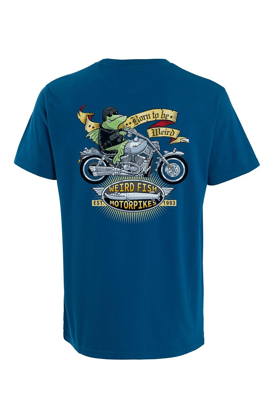 Motorpikes Artist T-Shirt Storm Blue
