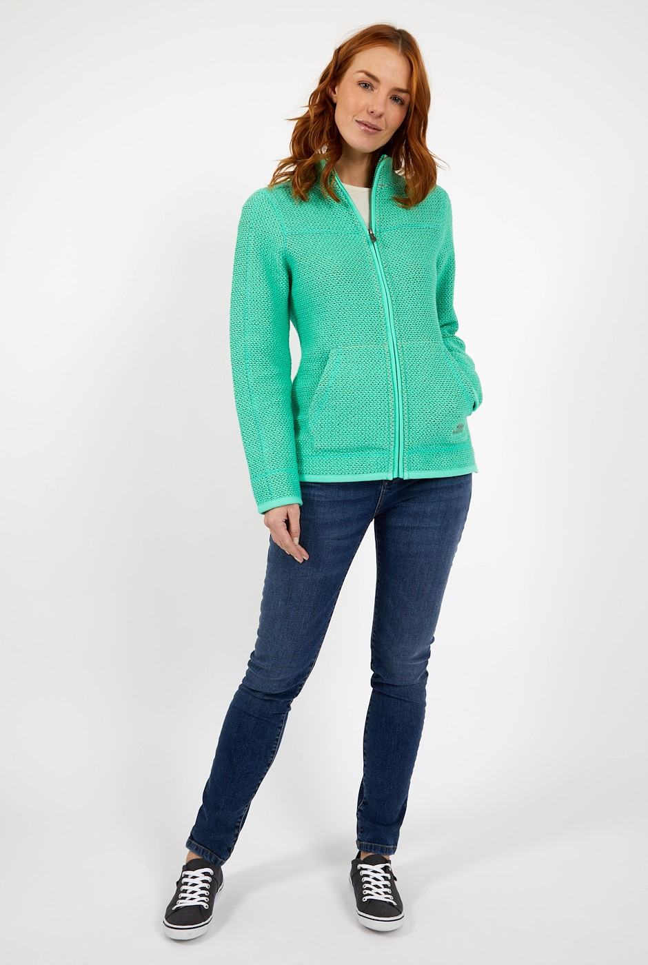 Sontee Full Zip Eco Macaroni Soft Green