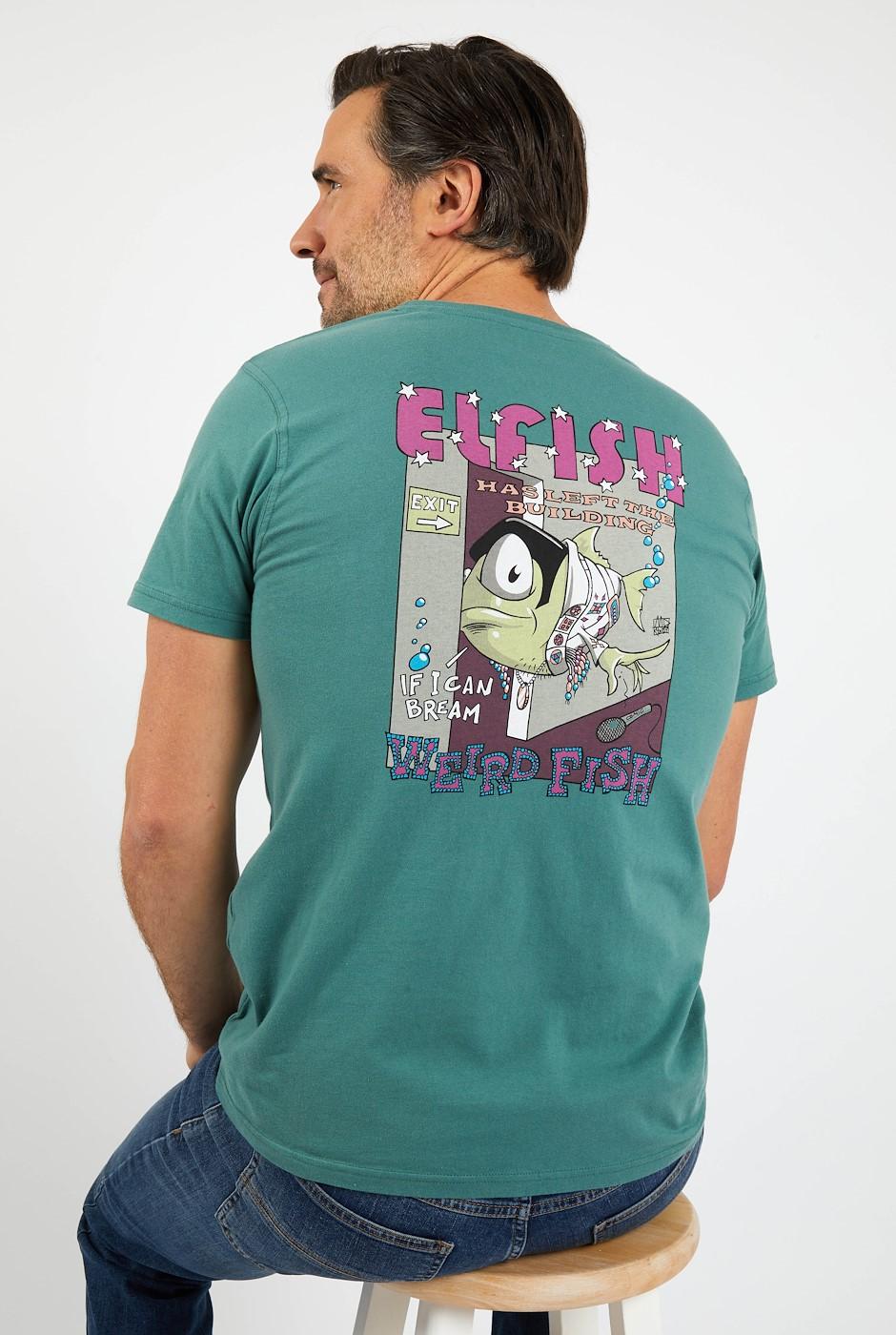 Elfish Organic Cotton Artist T-Shirt Ivy