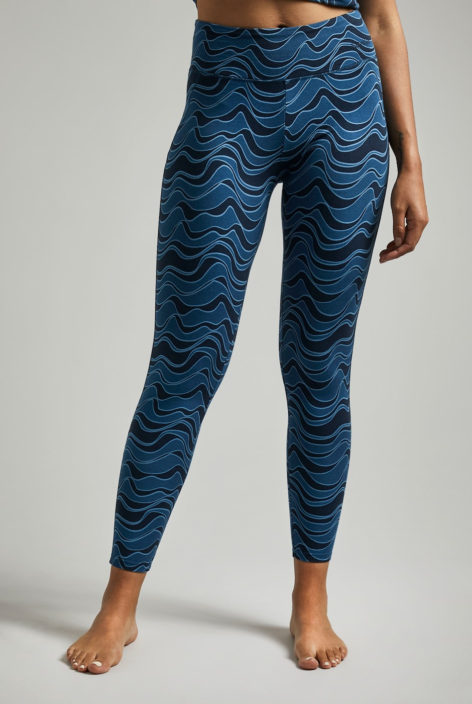 Tamra Bamboo Yoga Leggings Ensign Blue