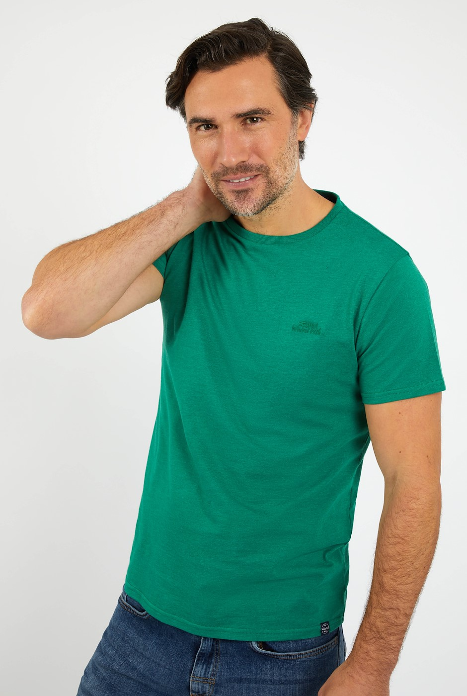 Fished Branded T-Shirt Frosty Spruce