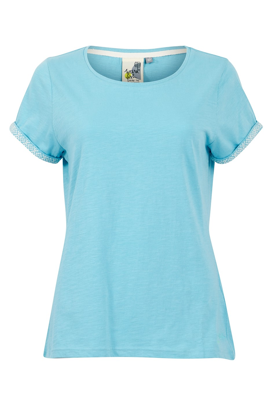 Trinity Organic Cotton Outfitter T-Shirt Sky Blue