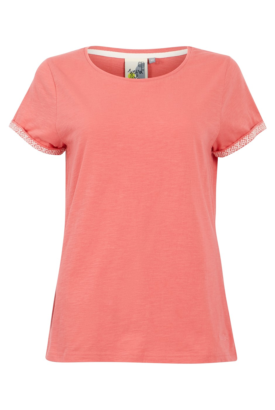 Trinity Organic Cotton Outfitter T-Shirt Tea Rose