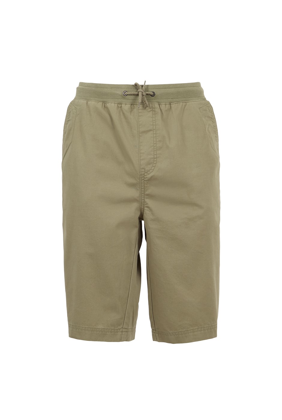 Murrisk Relaxed Casual Shorts Khaki Grey