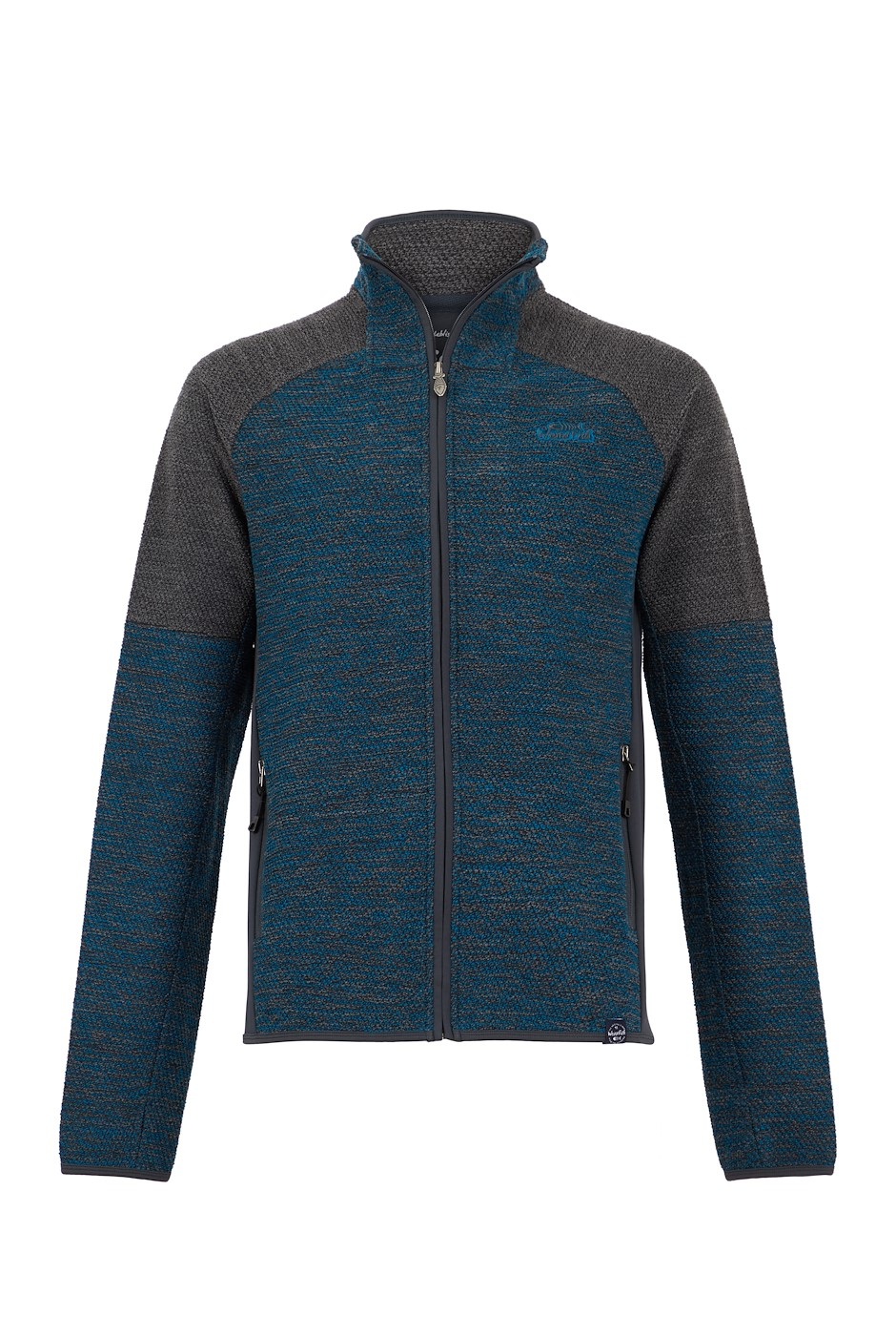 Zander Full Zip Active Macaroni Storm Blue