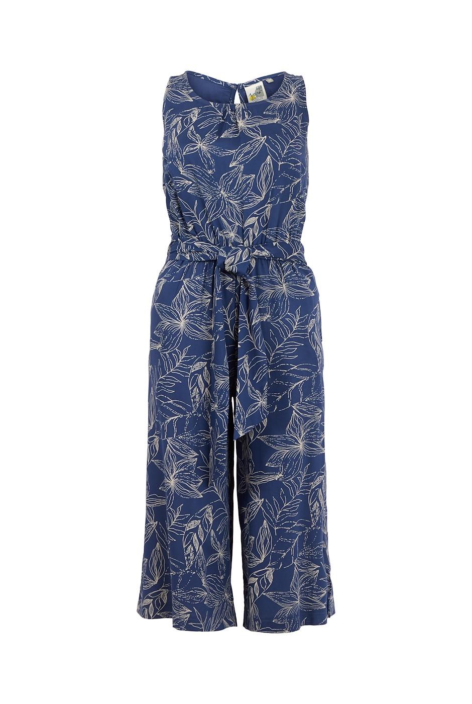 Nalani Printed Jumpsuit Ensign Blue