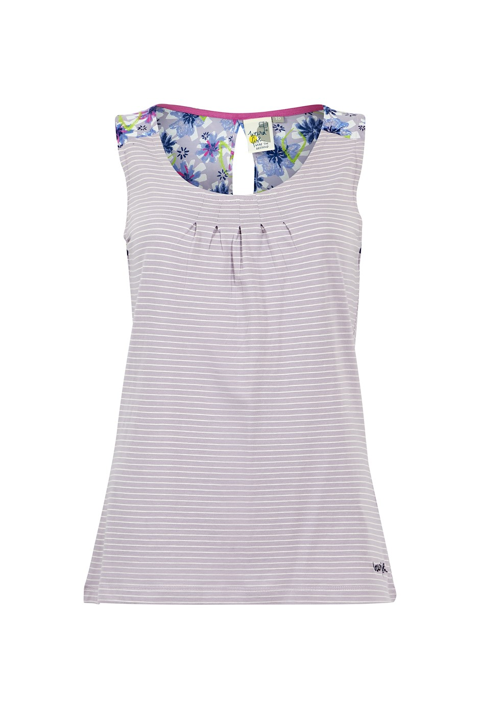 Nilly Jersey Vest Lilac Hint