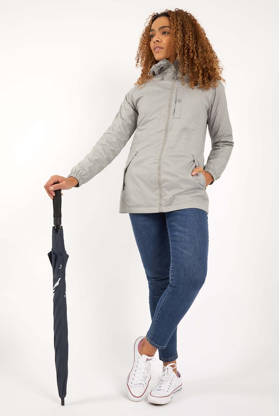 Teramo Showerproof Jacket Frost Grey