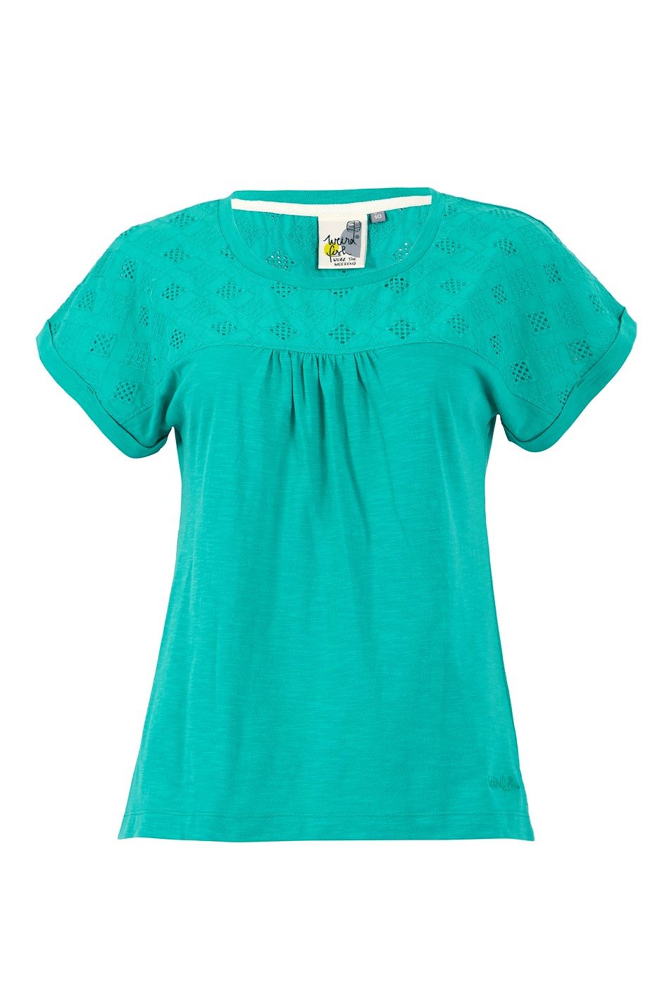 Cotta Organic Mix T-Shirt Light Teal