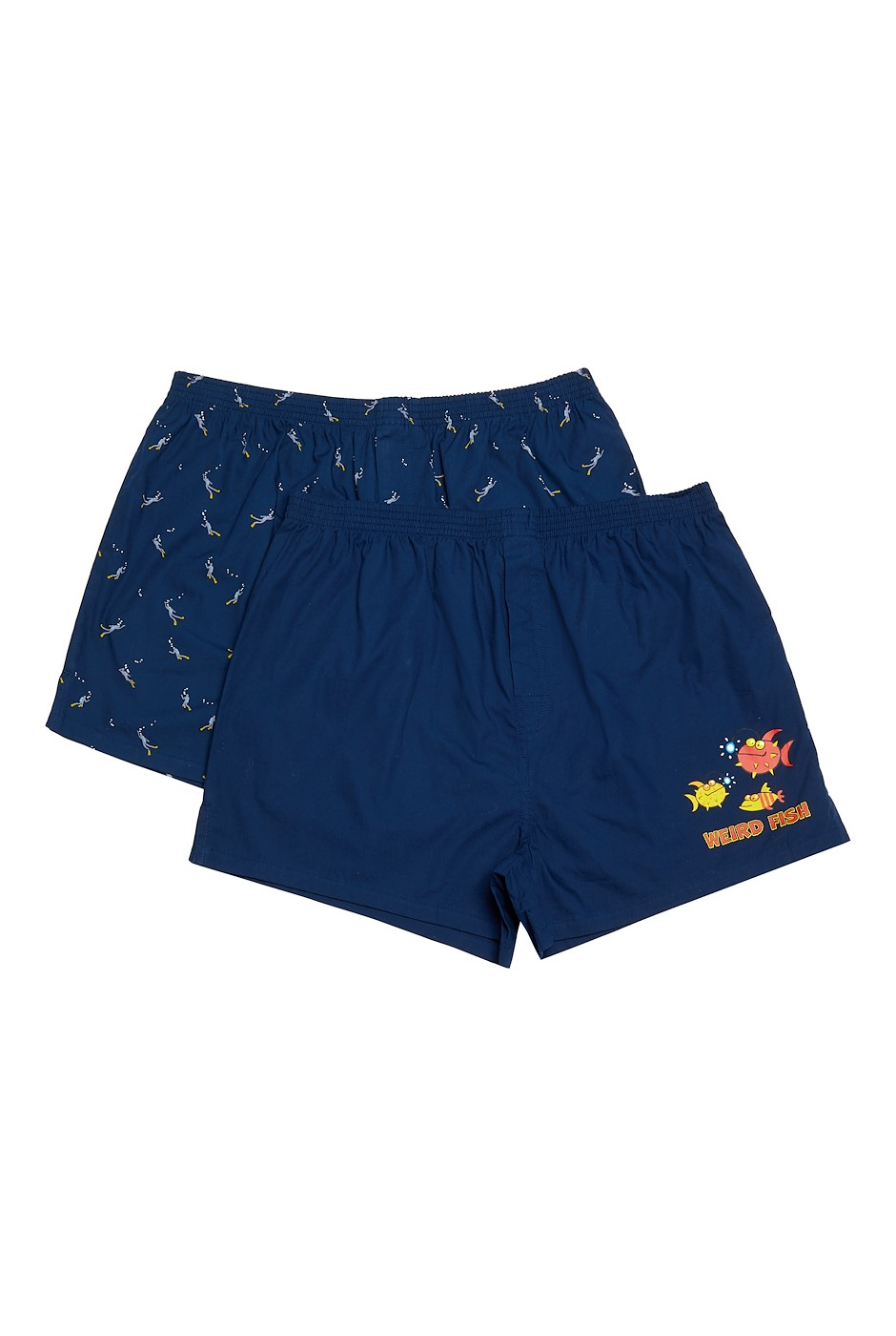 Harley Boxer Shorts Twin Pack Navy