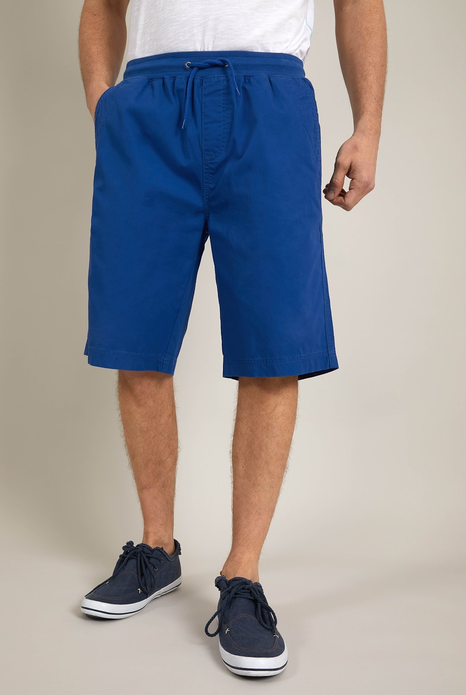 Murrisk Relaxed Casual Shorts True Blue