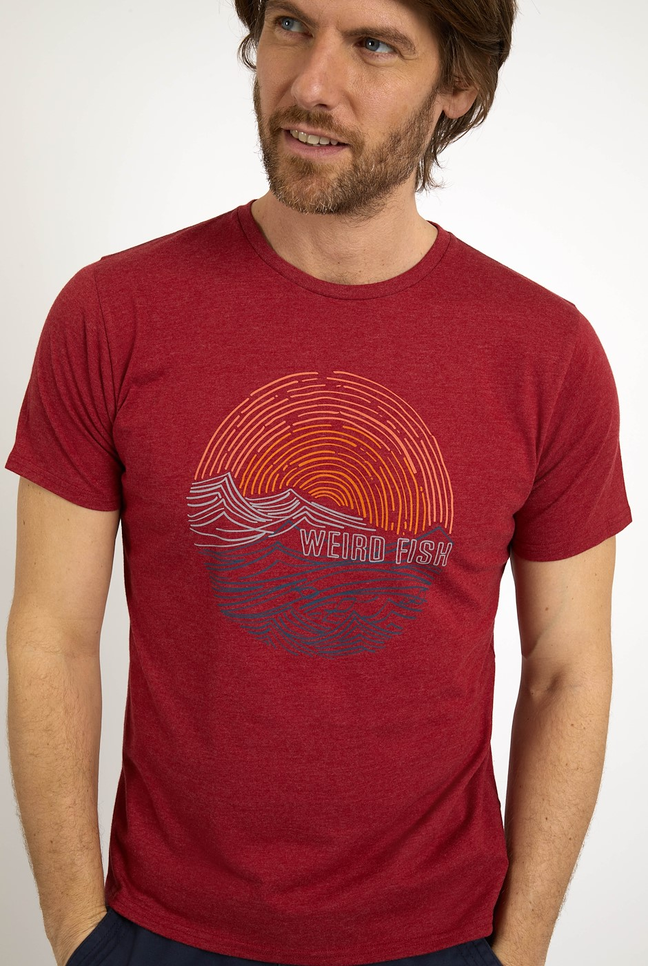 Ocean Organic Cotton Graphic T-Shirt Chilli Pepper