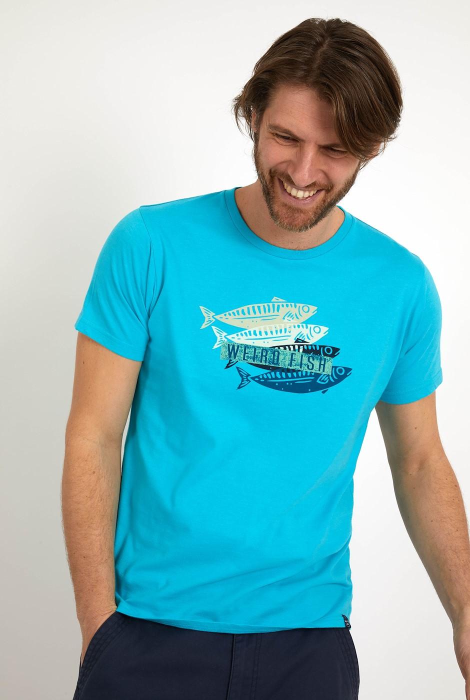 Sardinas Graphic T-Shirt Turquoise