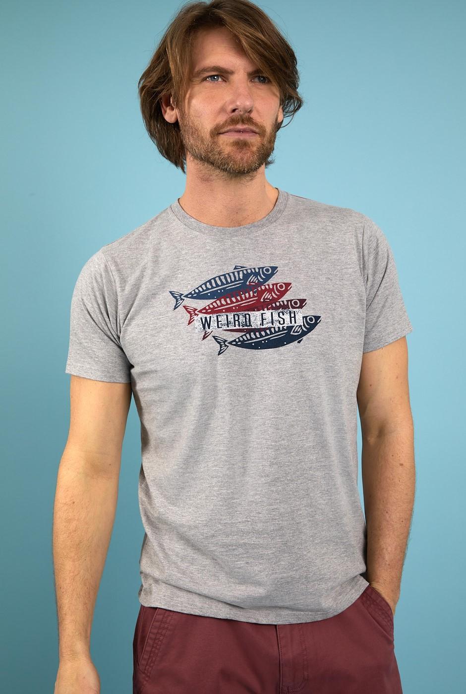 Sardinas Graphic T-Shirt Grey