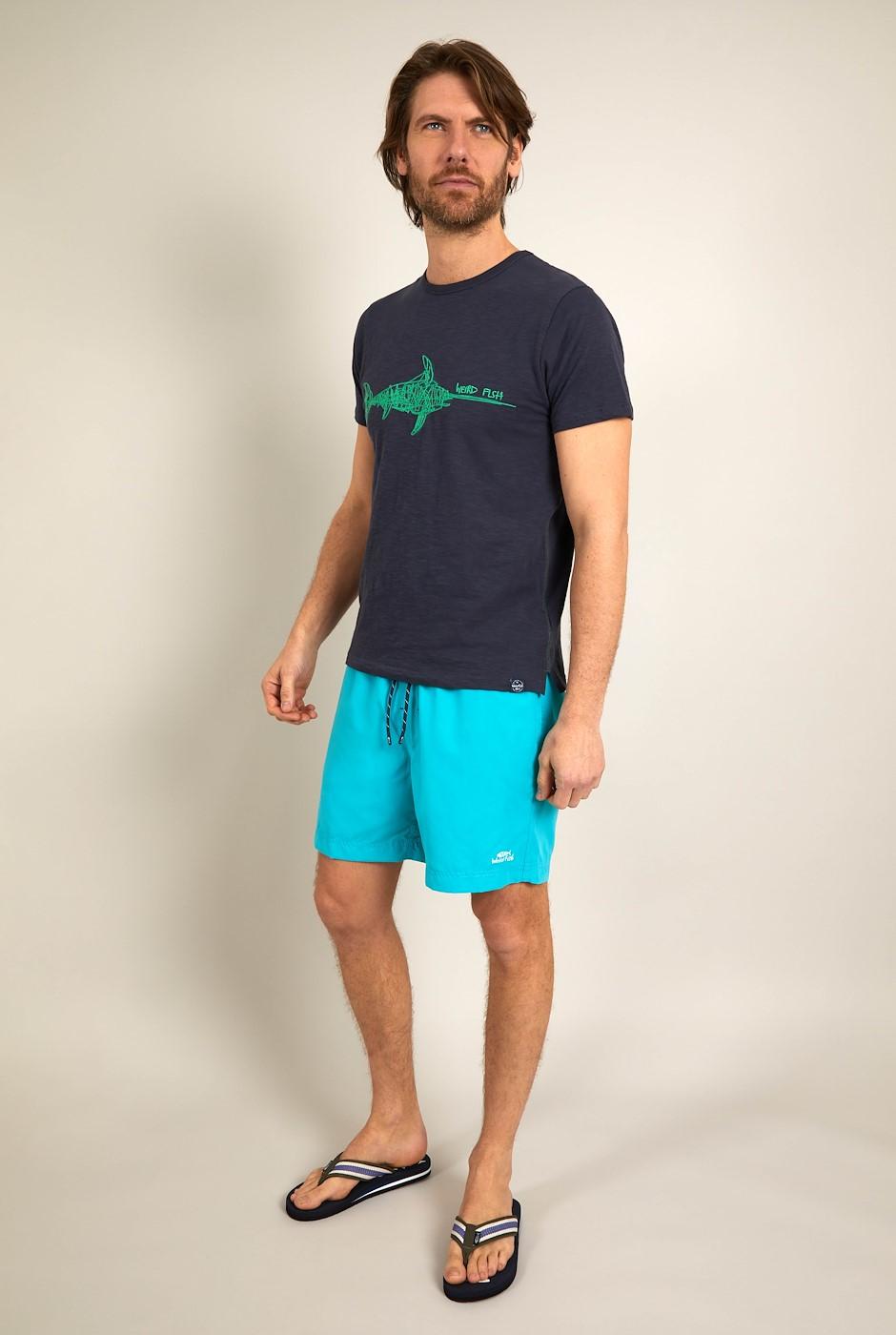 Carlone Swim Shorts Turquoise