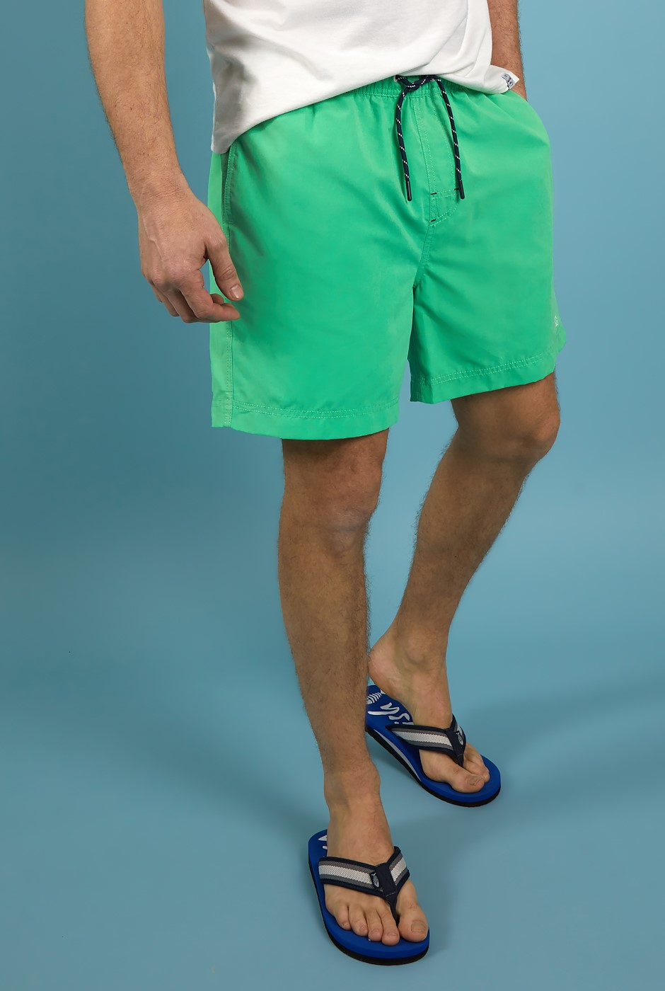 Carlone Swim Shorts Soft Green