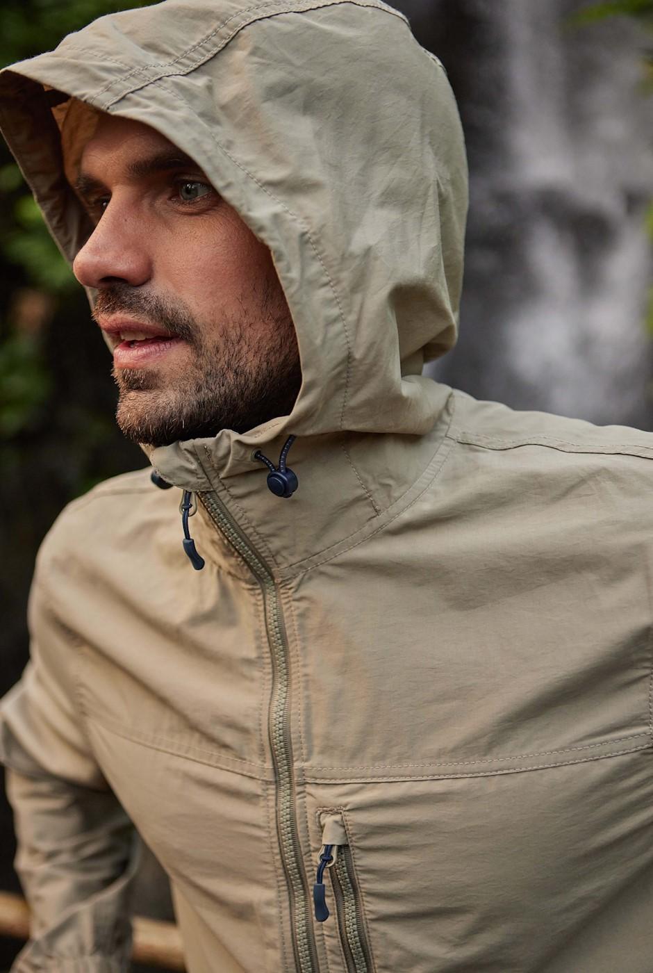 Pablo Showerproof Jacket Khaki