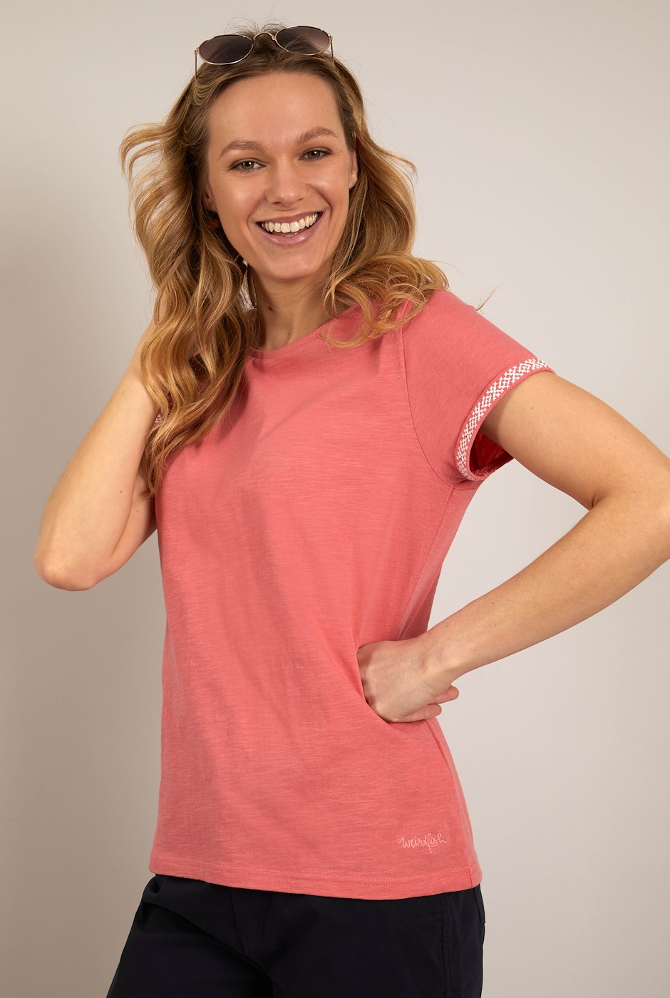 Trinity Organic Cotton Outfitter T-Shirt Tea Rose