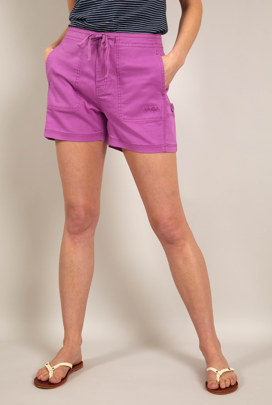 Willoughby Organic Cotton Shorts Mulberry