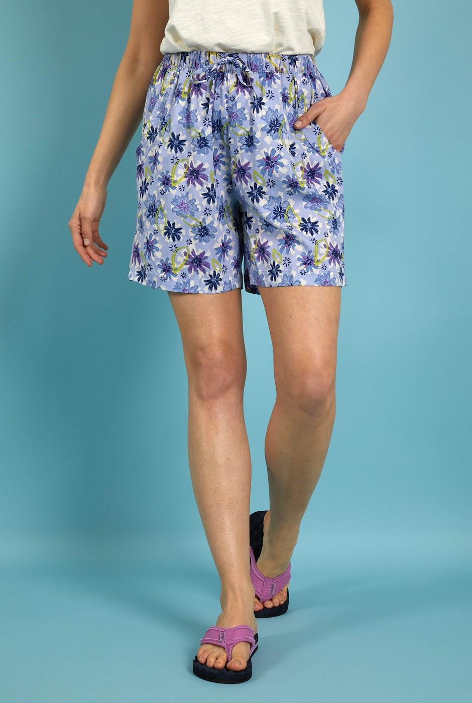 Sundance Printed Beach Shorts Lilac Hint