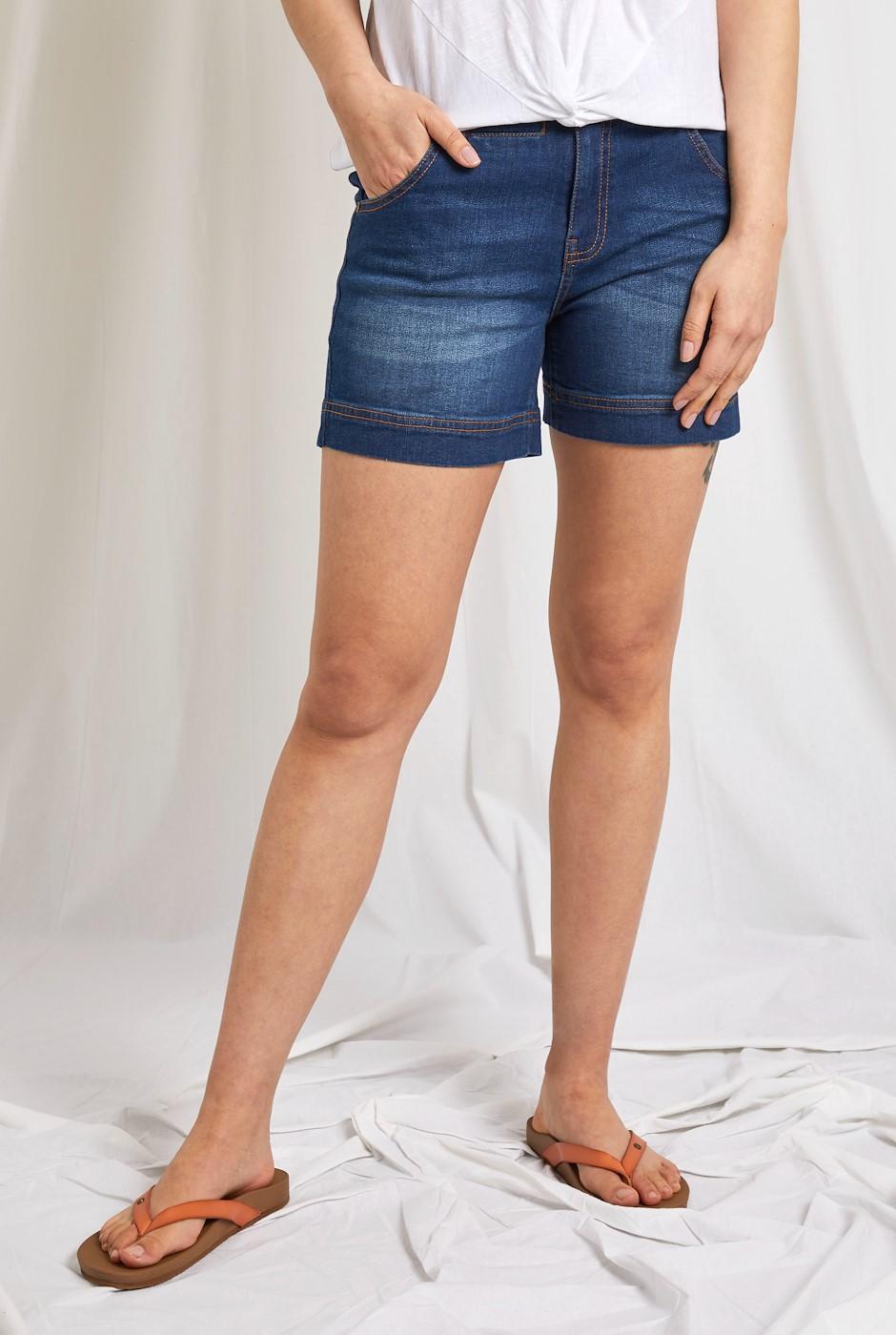 Latina Denim Shorts Denim