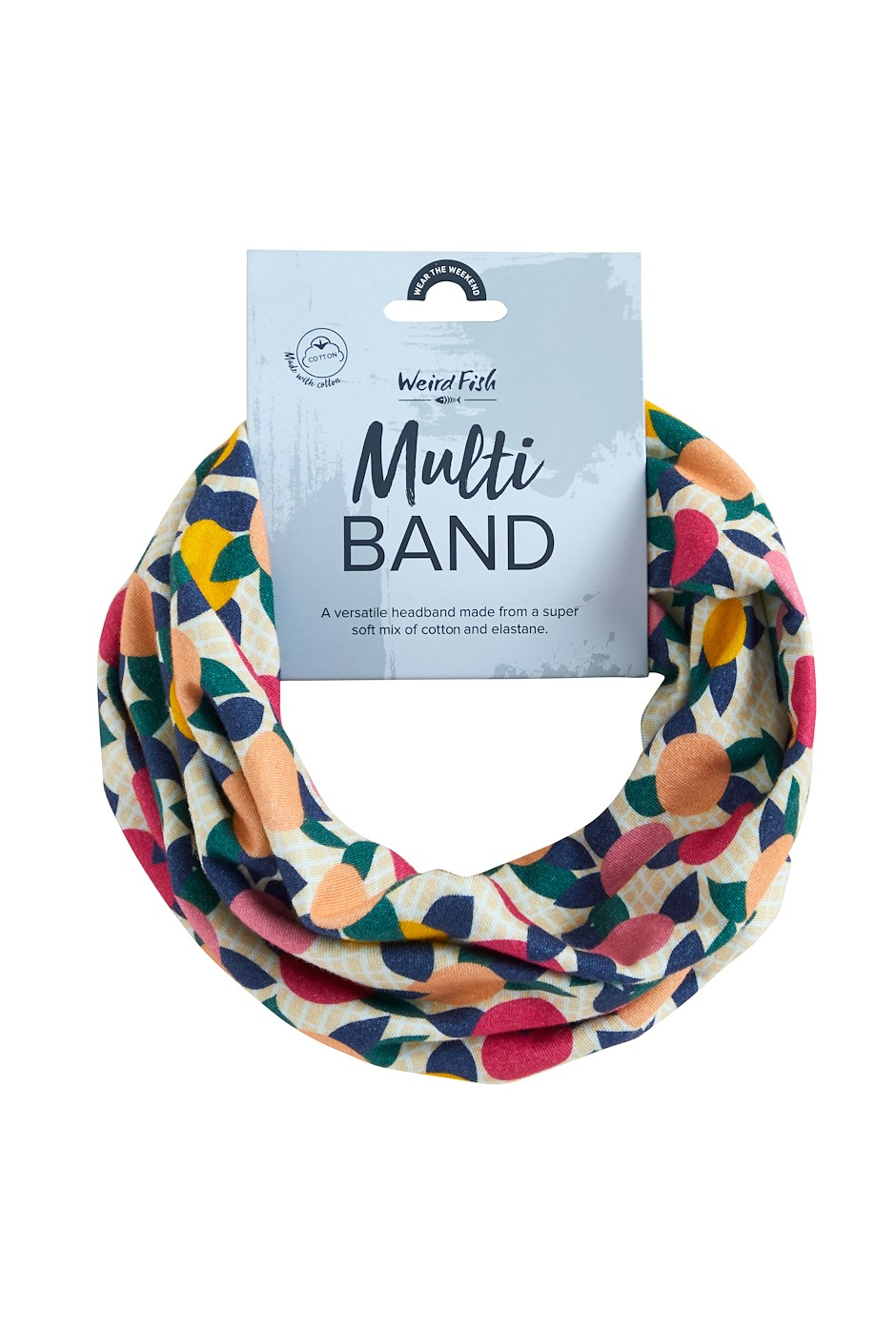 Marie Printed Jersey Multiway Band Apricot