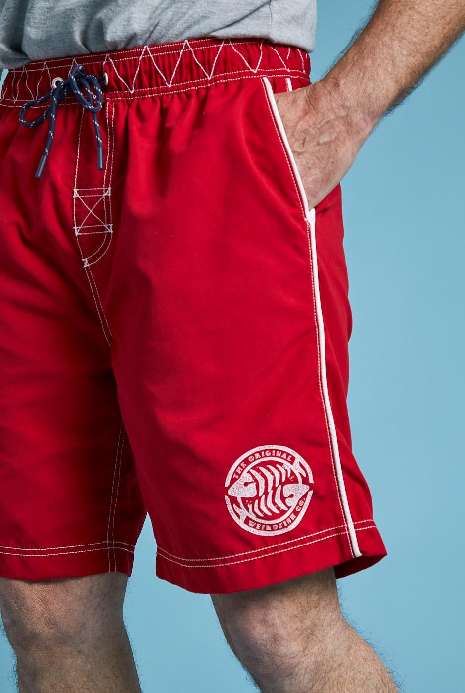 Cork Branded Board Shorts Chilli Pepper