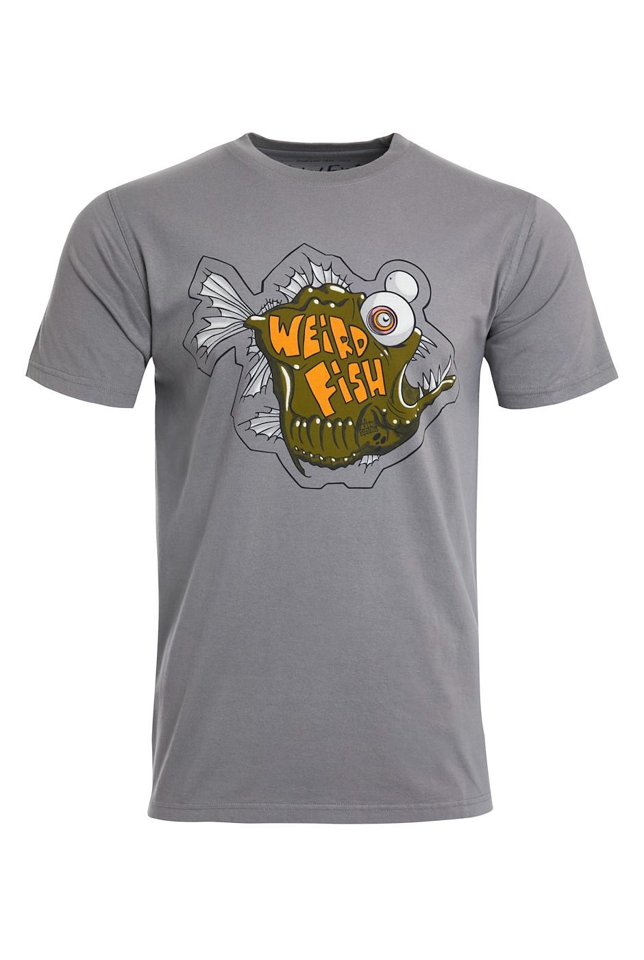 Deep Sea Organic Cotton Artist T-Shirt Frost Grey
