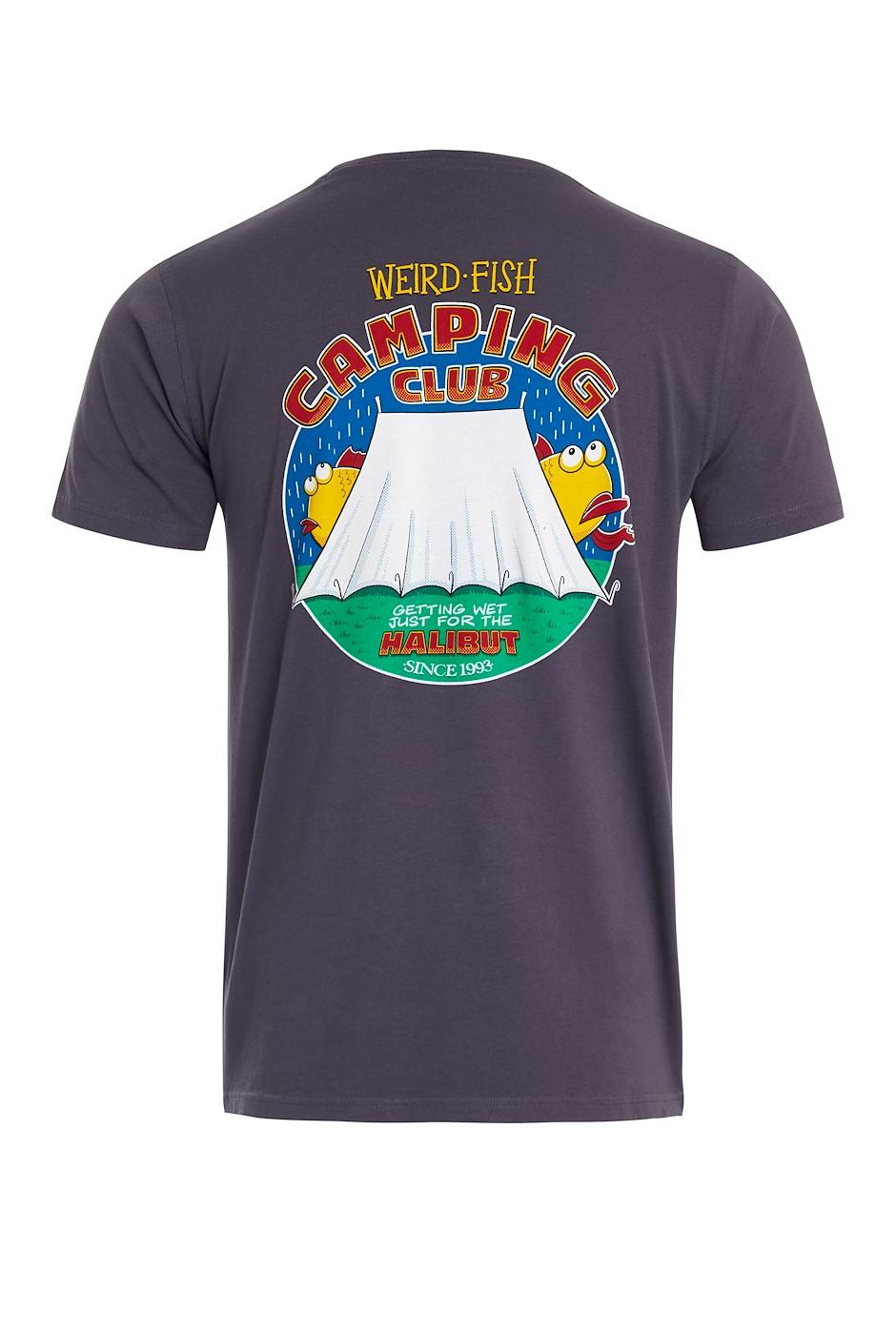 Weird Camping Organic Cotton Artist T-Shirt Raisin