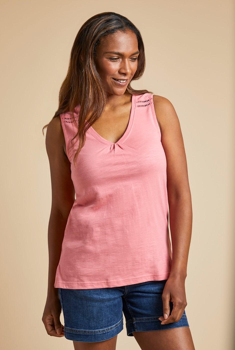 Kaira Outfitter Vest Tea Rose