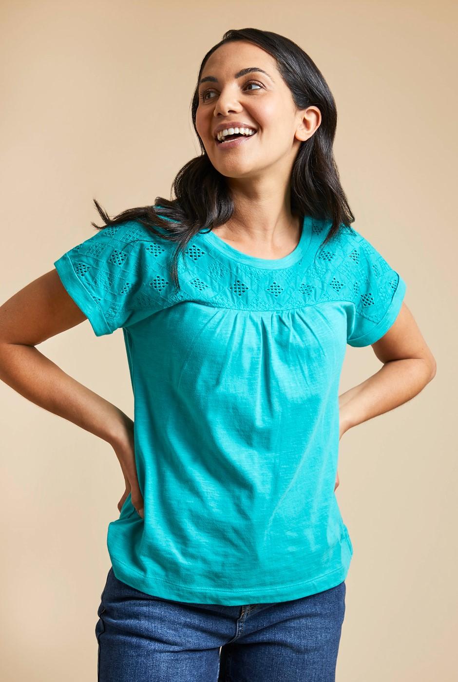 Cotta Organic Mix T-Shirt Light Teal