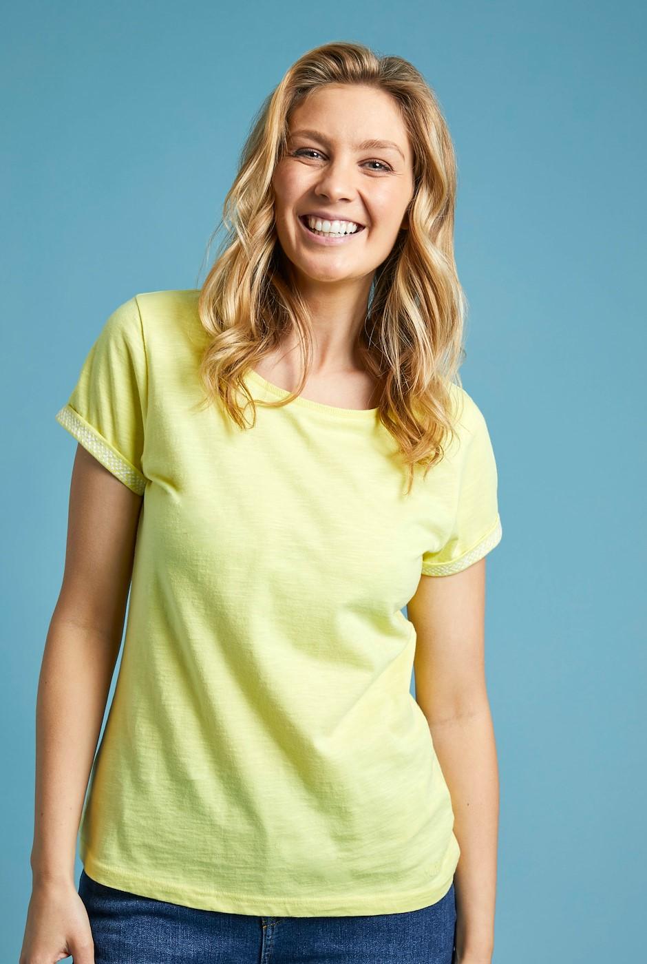 Trinity Organic Cotton Outfitter T-Shirt Lemon