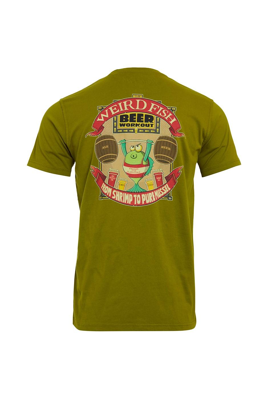 Pure Mussel Organic Cotton Artist T-Shirt Woodbine