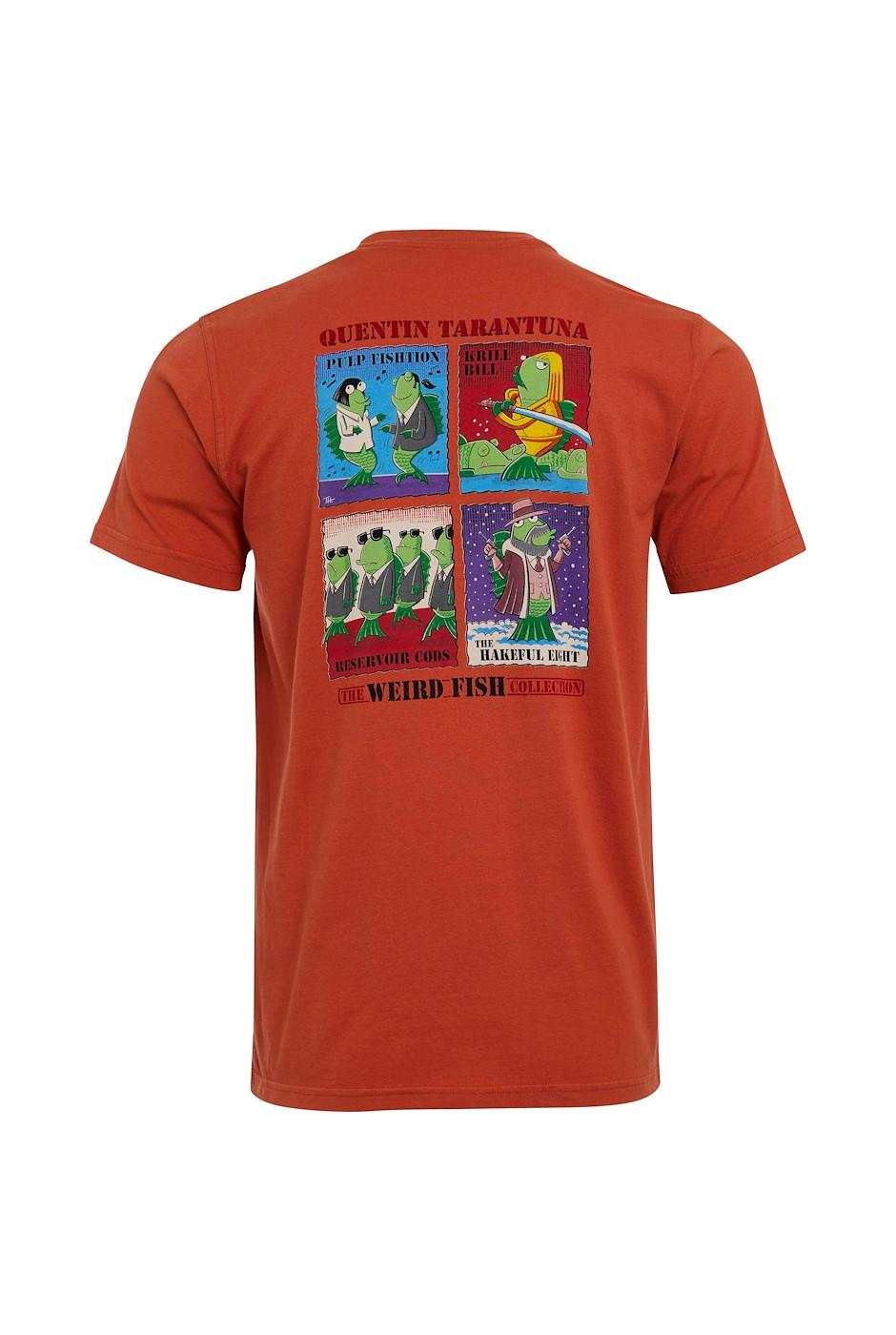 Tarentuna Tall Organic Cotton Artist T-Shirt Rust