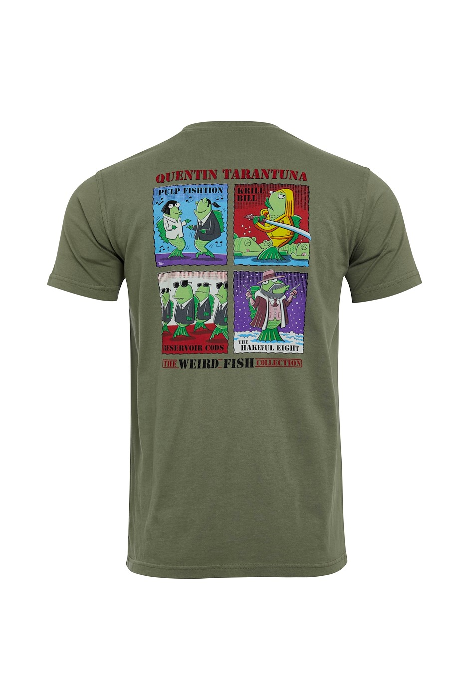 Tarentuna Organic Cotton Artist T-Shirt Khaki Grey