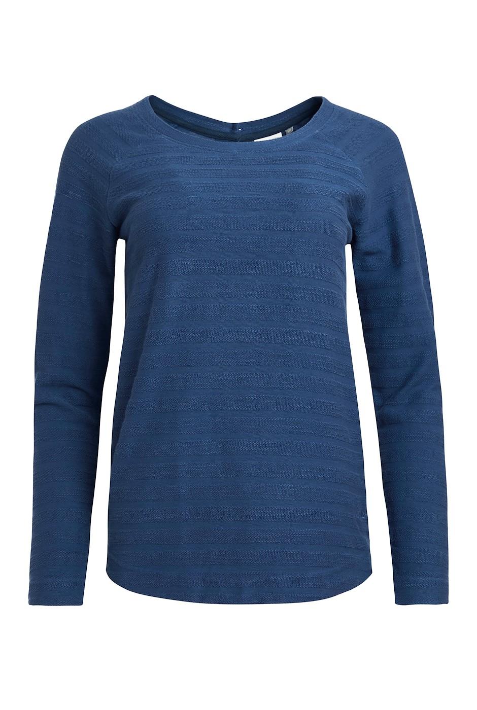 Monsaraz Crew Neck Sweatshirt Ensign Blue