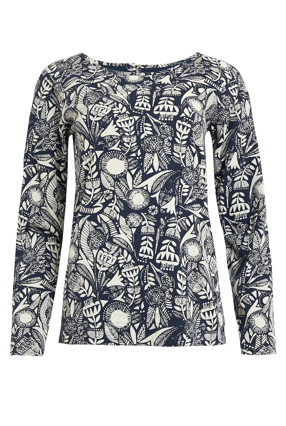 Tupelo Organic Cotton Long Sleeve T-Shirt Ink