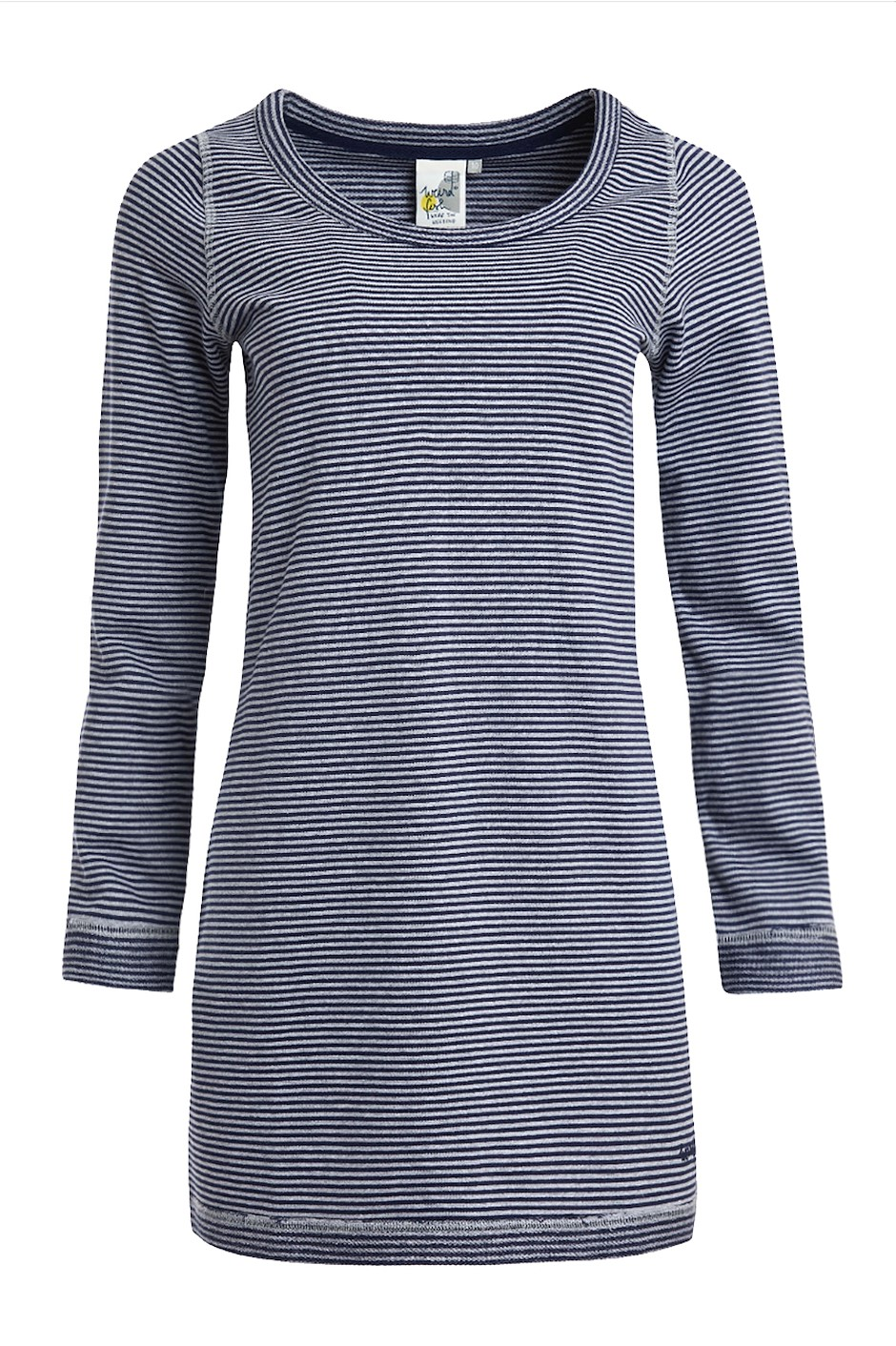 Tanya Organic Cotton Tunic Tall Navy