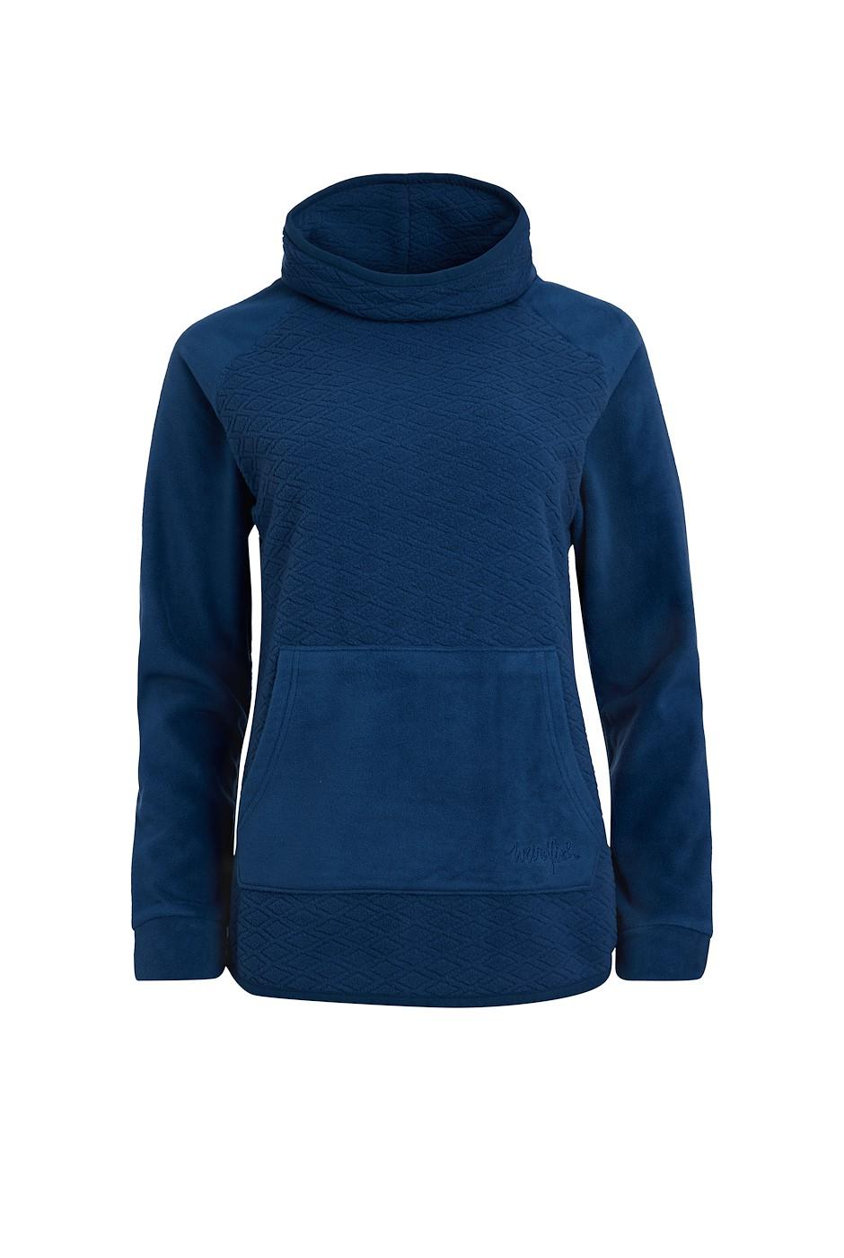 Sallca Recycled Polyester Micro Fleece Ensign Blue