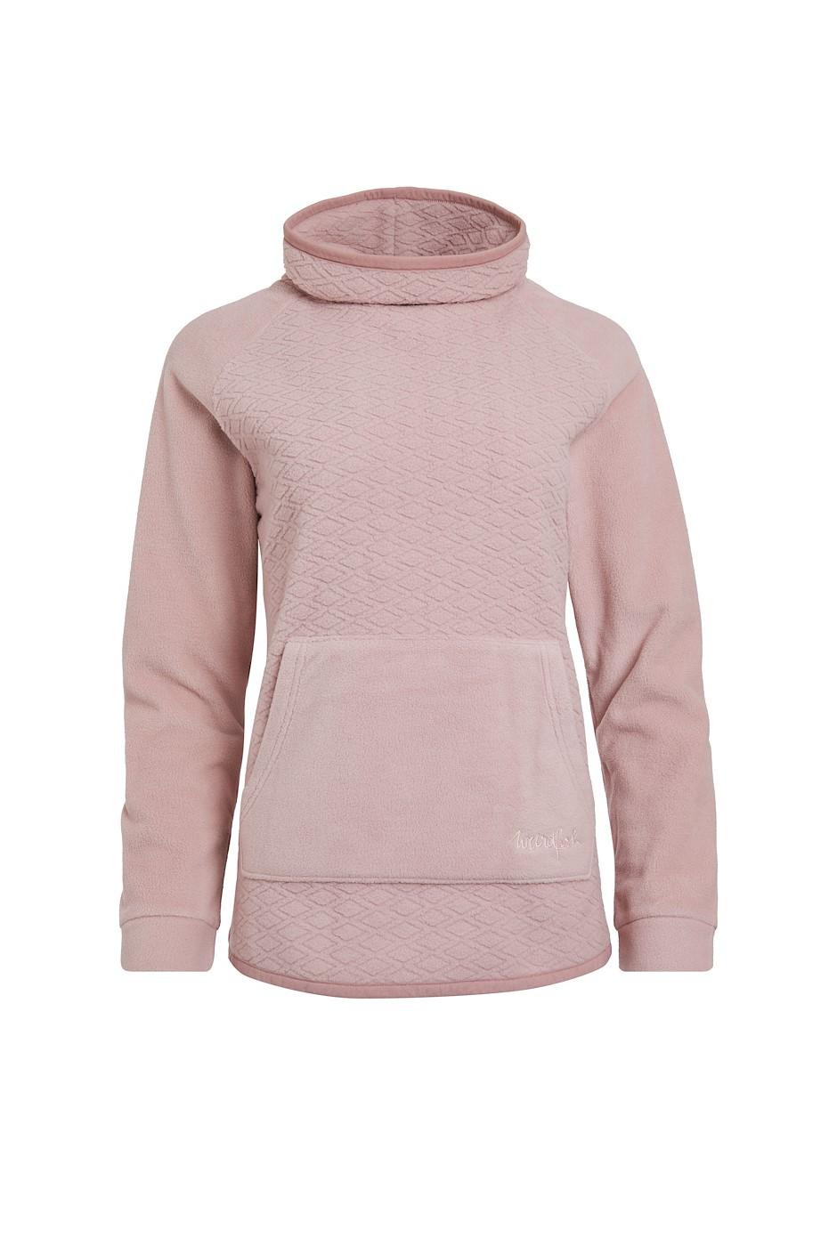 Sallca Recycled Polyester Micro Fleece Powder Pink
