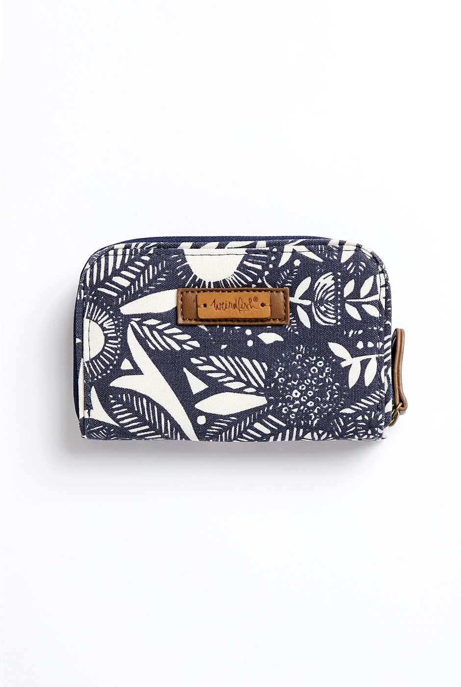 Tom Tom Washed Cotton Canvas Purse Ink