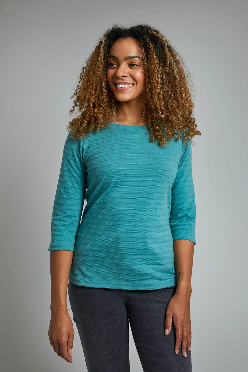 Essin Eco Outfitter T-Shirt Washed Teal