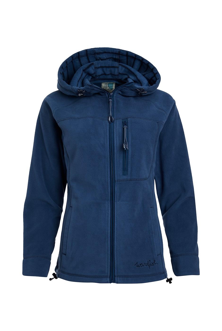 Callery Recycled Fleece Hoodie Ensign Blue