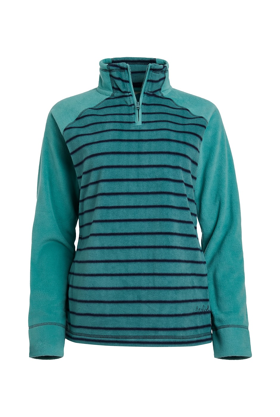 Litchi Recycled Fleece Washed Teal