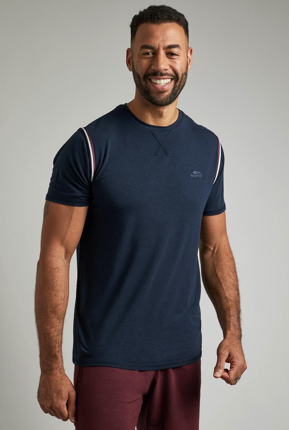 Andros Bamboo T-Shirt Dark Navy