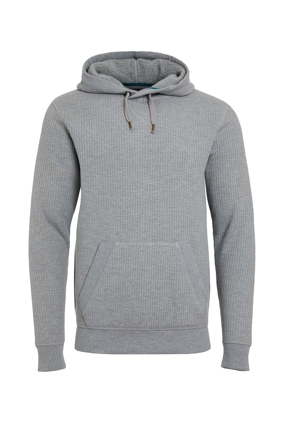 Cresson Bonded Waffle Popover Hoodie Frost Grey